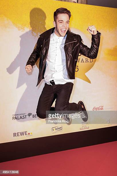 Luca Haenni attends the 1st Act Now Jugend Award on November 02 2015 in Berlin Germany
