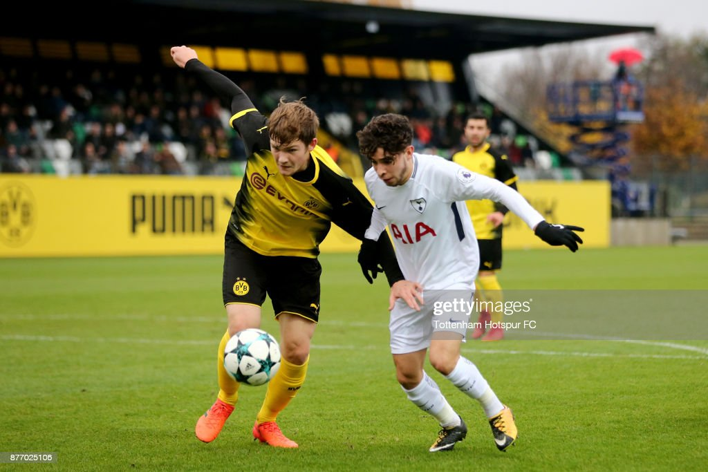 Borussia Dortmund v Tottenham Hotspur - UEFA Youth League