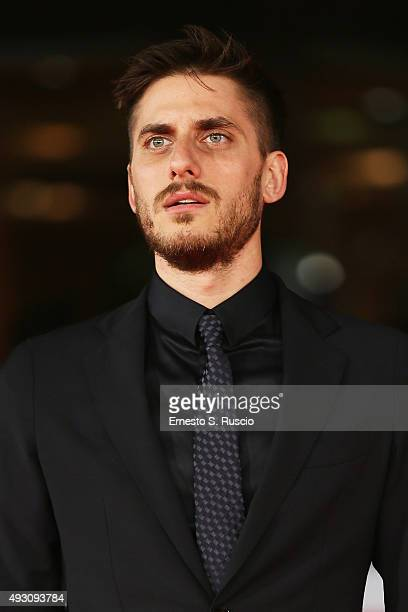 Luca Marinelli attends a red carpet for 'Lo Chiamavano Jeeg Robot' during the 10th Rome Film Fest on October 17 2015 in Rome Italy