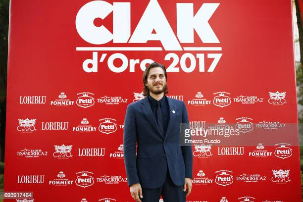Luca Marinelli attends Ciak D'Oro 2017 on June 8 2017 in Rome Italy