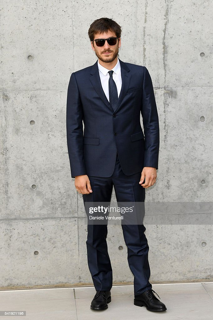 <a gi-track='captionPersonalityLinkClicked' href=/galleries/search?phrase=Luca+Marinelli&family=editorial&specificpeople=7179366 ng-click='$event.stopPropagation()'>Luca Marinelli</a> attends the Giorgio Armani show during Milan Men's Fashion Week SS17 on June 21, 2016 in Milan, Italy.
