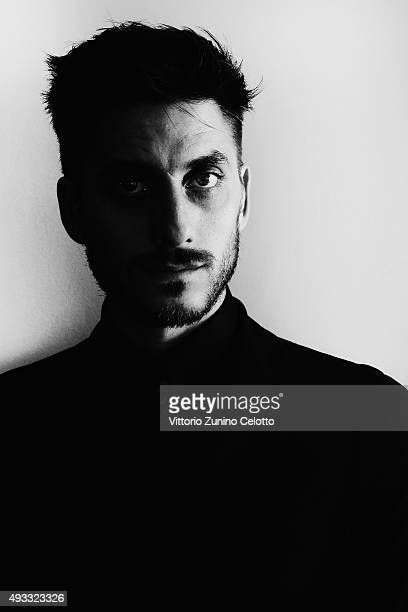 Luca Marinellii poses on October 17 2015 in Rome Italy