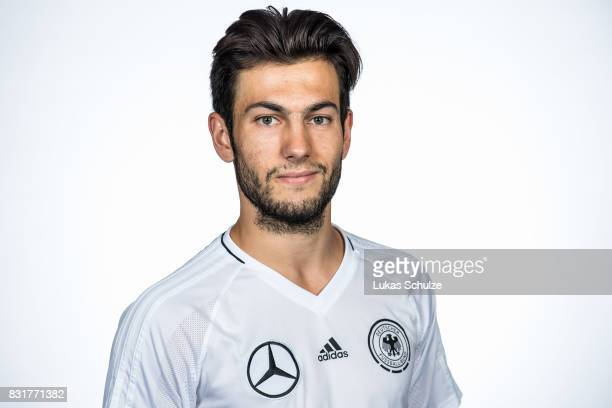 Luca Piga poses at Sport School Wedau on August 11 2017 in Duisburg Germany