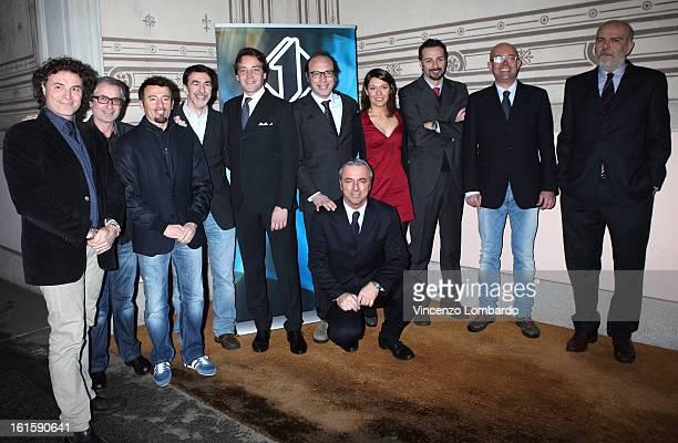 Luca Tiraboschi Alberto Porta Max Biaggi Giulio Rangheri Guido Meda Anna Capella Alessio Conti Luca Budel Ettore Pagani and Fabio Pravettoni...