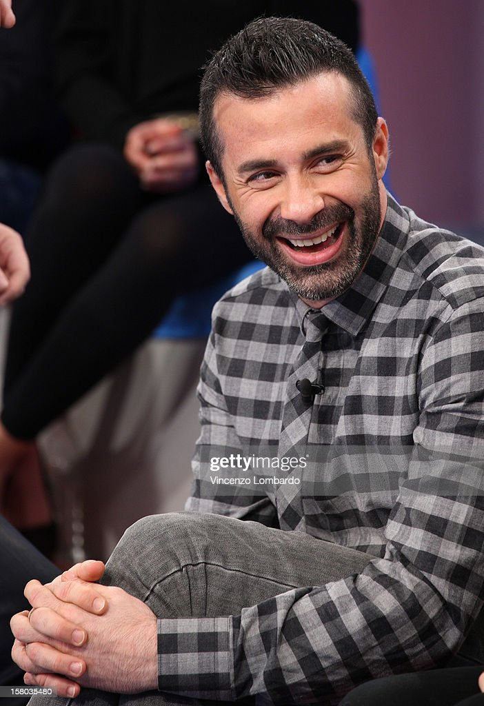 Luca Tommasini attend 'Cielo Che Gol' Italian TV Show on December 9, 2012 in Milan, Italy.