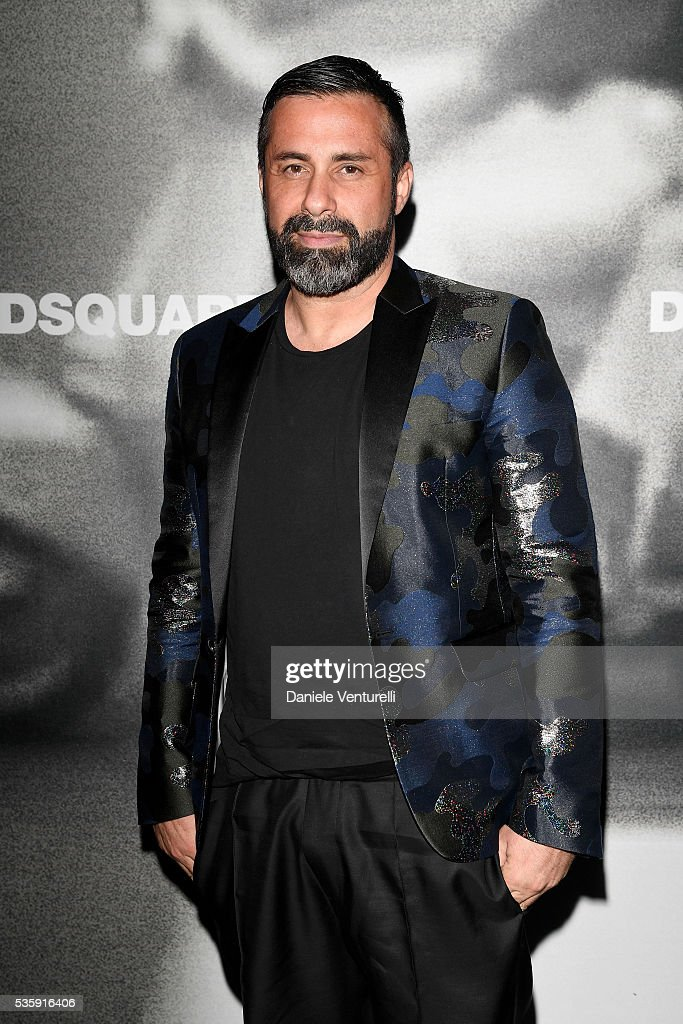 Luca Tommassini attends Dsquared2 in-store cocktail on May 30, 2016 in Rome, Italy.