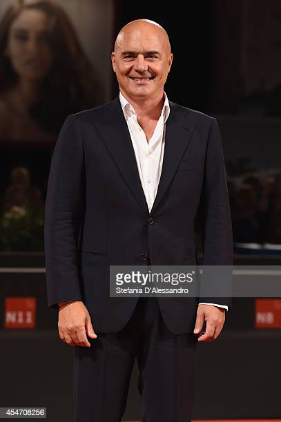 Luca Zingaretti attends 'Perez' Premiere during the 71st Venice Film Festiva on September 5 2014 in Venice Italy