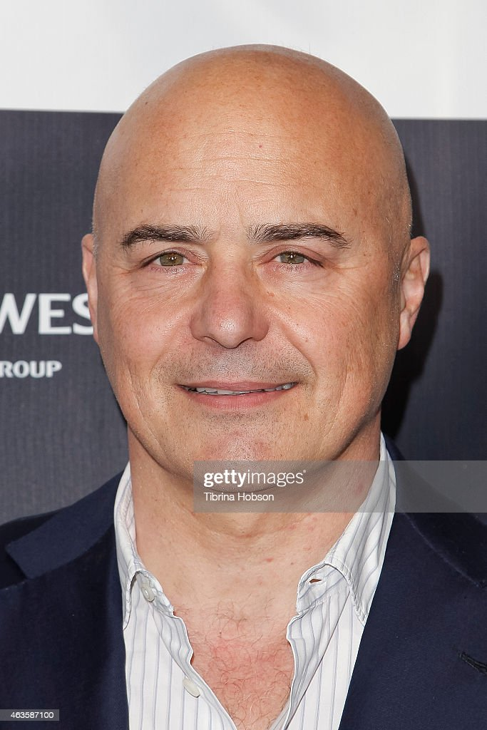 Luca Zingaretti attends the Los Angeles Italia opening gala at TCL Chinese 6 Theatres on February 15, 2015 in Hollywood, California.