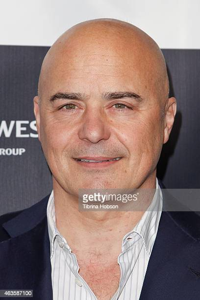 Luca Zingaretti attends the Los Angeles Italia opening gala at TCL Chinese 6 Theatres on February 15 2015 in Hollywood California