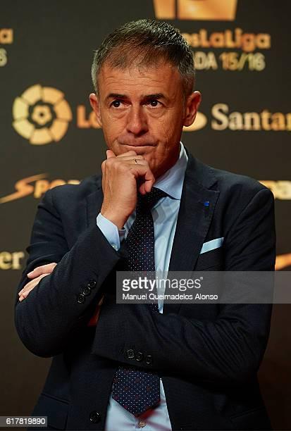 Lucas Alcaraz attends the LFP Soccer Awards Gala 2016 at Palacio de Congresos on October 24 2016 in Valencia Spain