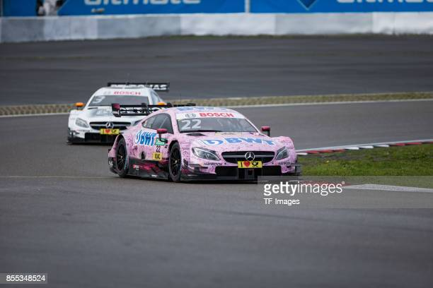 Lucas Auer and Paul Di Resta drives during the Qualifying race of the DTM 2017 German Touring Car Championship at Nuerburgring on Septembmber 9 2017...