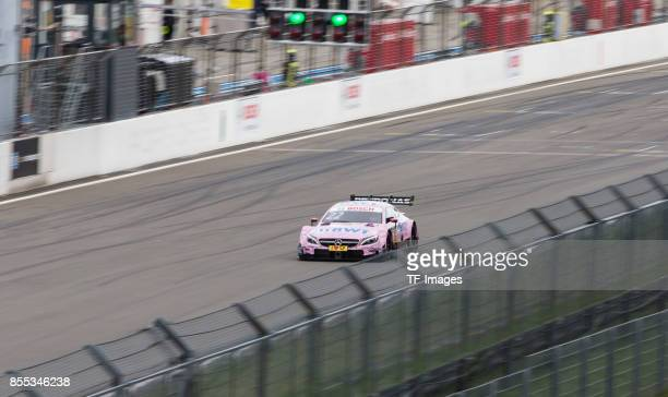 Lucas Auer drives during the race of the DTM 2017 German Touring Car Championship at Nuerburgring on Septembmber 10 2017 in Nuerburg Germany
