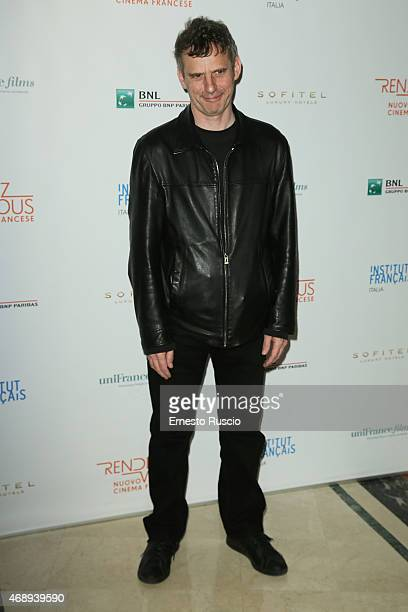Lucas Belvaux attends the '5th Rendezvous' French Film Festival Opening Ceremony at Sofitel Hotel on April 8 2015 in Rome Italy