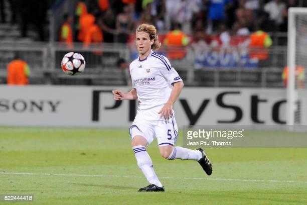 Lucas BIGLIA Lyon / Anderlecht Champions League Tour Preliminaire