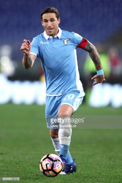 Lucas Biglia of SS Lazio in action during the Serie A match between SS Lazio and FC Torino at Stadio Olimpico on March 13 2017 in Rome Italy