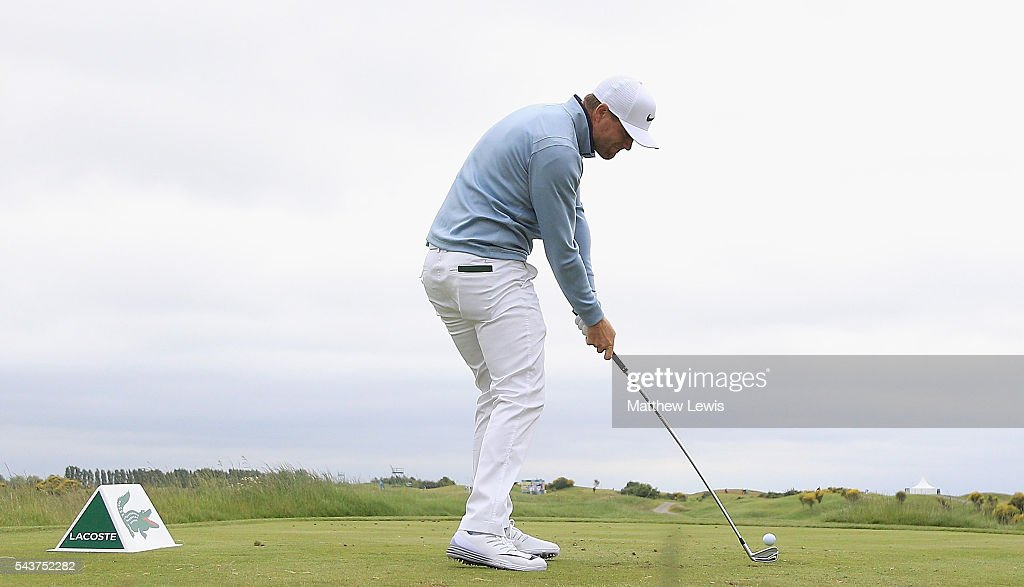 <a gi-track='captionPersonalityLinkClicked' href=/galleries/search?phrase=Lucas+Bjerregaard&family=editorial&specificpeople=6215709 ng-click='$event.stopPropagation()'>Lucas Bjerregaard</a> of Denmark tees off on the 10th hole during day one of the 100th Open de France at Le Golf National on June 30, 2016 in Paris, France.