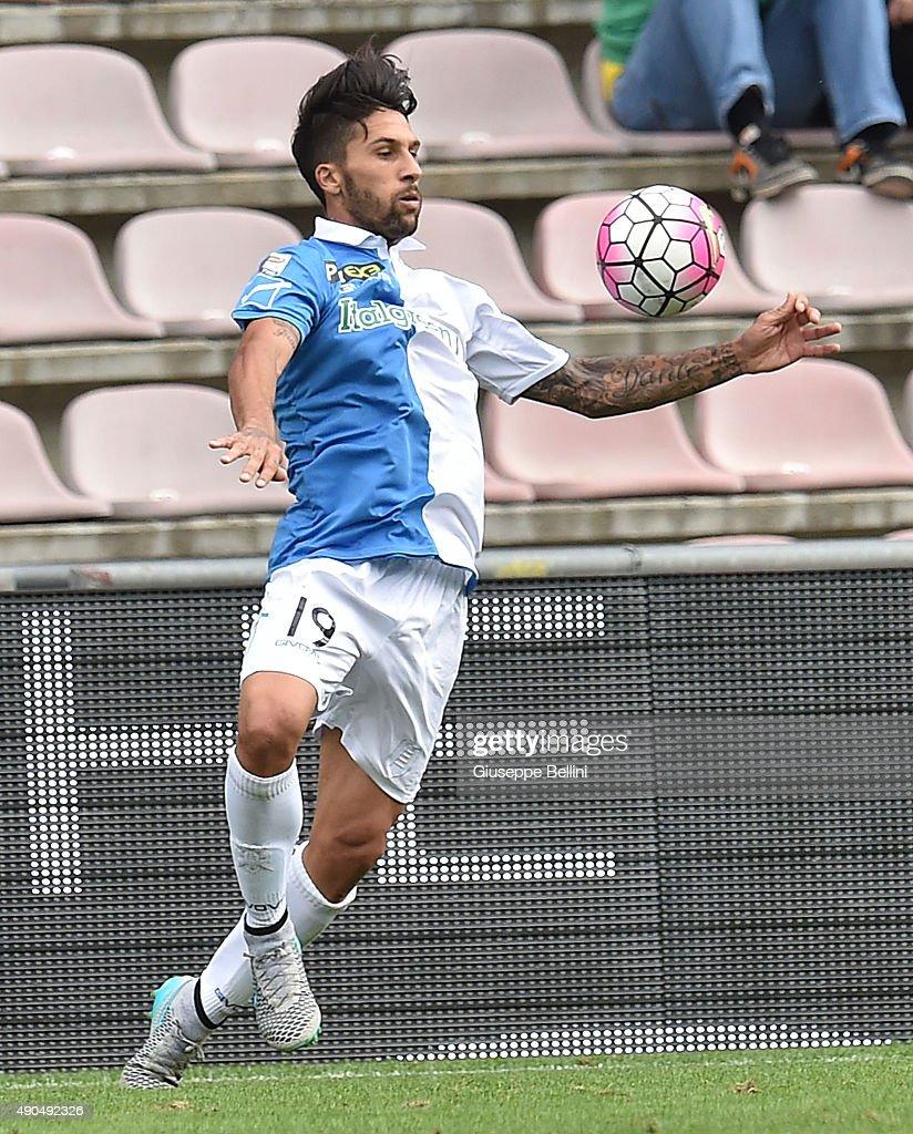 Lucas Castro of Chievo Verona in action during the Serie A match between US Sassuolo Calcio and AC Chievo Verona at Mapei Stadium Città del Tricolore...