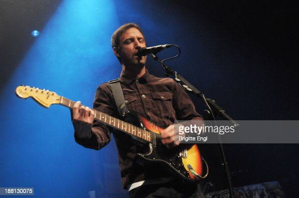 Lucas Crowther of The Rifles performs on stage at The Forum on November 15 2013 in London United Kingdom