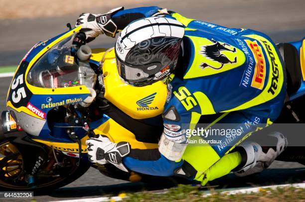 Lucas de Carolis National Moto championnat du monde endurance Moto Course Circuit Nevers Magny cours Photo Alain Bourdaux / Icon Sport