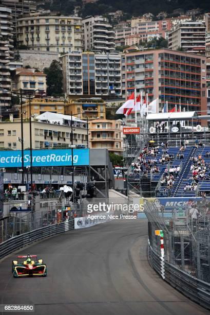 Lucas Di Grassi of Brazil during the Grand Prix of Monaco on May 13 2017 in Monaco Monaco