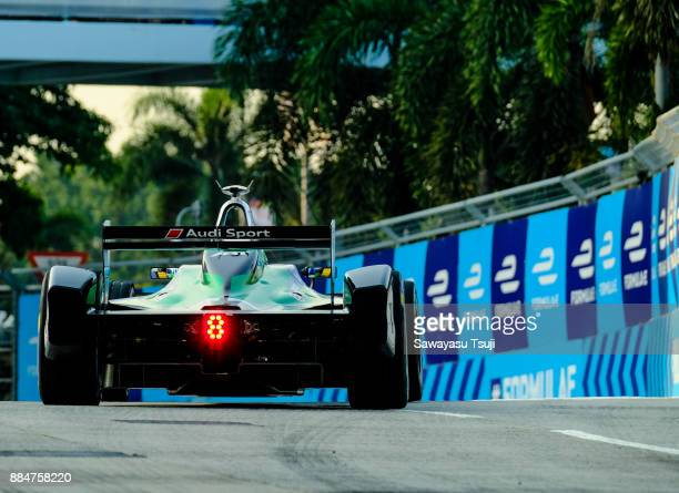 Lucas Di Grassi of Brazil from Audi Sport ABT Schaeffler Formula E Team competes during the FIA Formula E Hong Kong 2017 EPrix Round 2 at the Central...