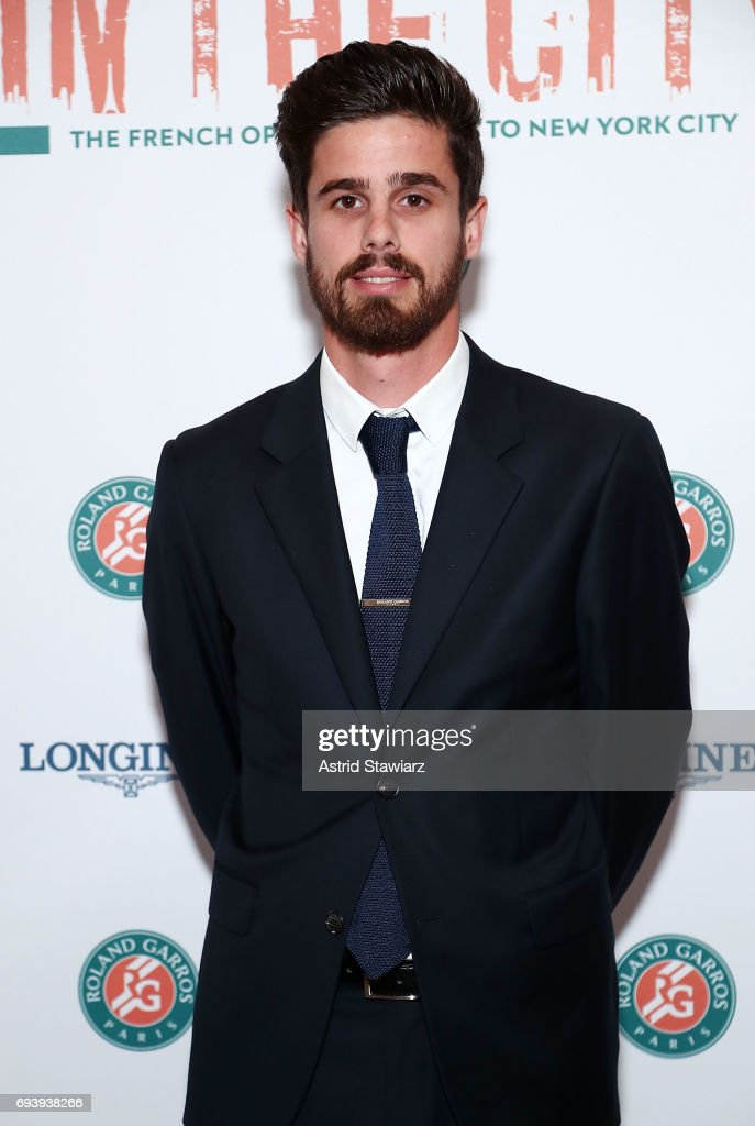 Lucas Dubourg attends Roland-Garros in the city reception at French Consulate on June 8, 2017 in New York City.