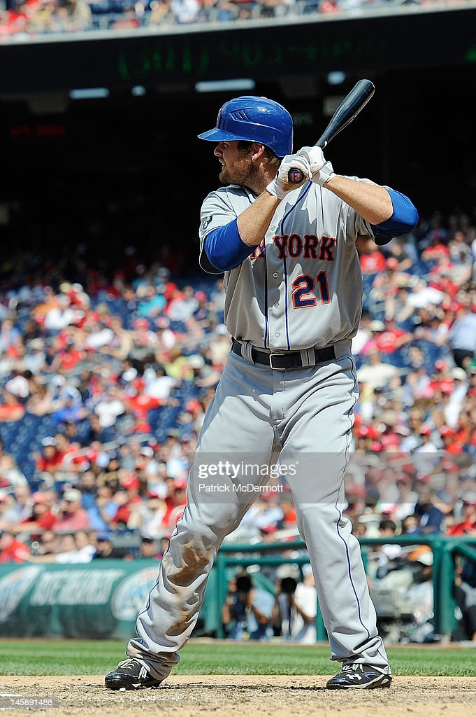<a gi-track='captionPersonalityLinkClicked' href=/galleries/search?phrase=Lucas+Duda&family=editorial&specificpeople=7172550 ng-click='$event.stopPropagation()'>Lucas Duda</a> #21 of the New York Mets hits against the Washington Nationals at Nationals Park on June 7, 2012 in Washington, DC.