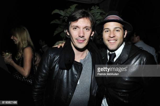 Lucas Haas Frankie Levangie attend NICOLAS BERGGRUEN's 2010 Annual Party at the Chateau Marmont on March 3 2010 in West Hollywood California