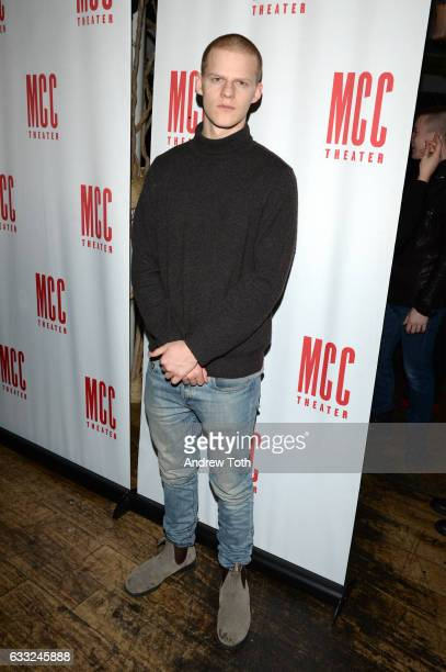 Lucas Hedges attends the 'Yen' opening night after party at SushiSamba 7 on January 31 2017 in New York City