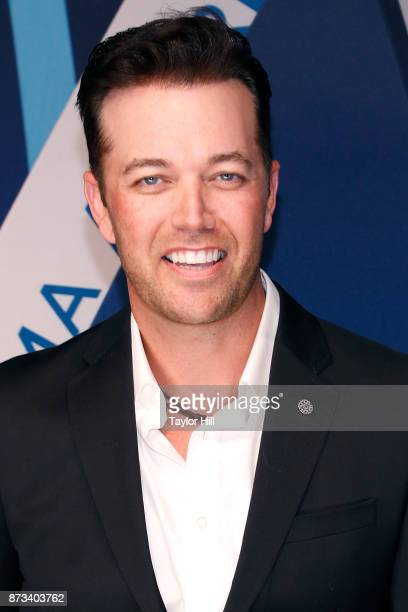 Lucas Hoge attends the 51st annual CMA Awards at the Bridgestone Arena on November 8 2017 in Nashville Tennessee