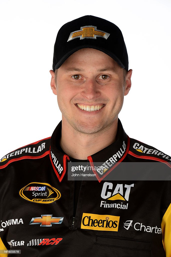 Lucas Lambert, crew chief of the #31 Caterpillar Chevrolet, poses during portraits for the 2013 NASCAR Sprint Cup Series at Daytona International Speedway on February 17, 2013 in Daytona Beach, Florida.