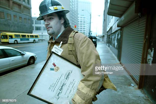 Lucas McGrail leaves the Peoples Outfitting Co with a framed certificate from 1956 The certificate was from the president of American Airlines to the...