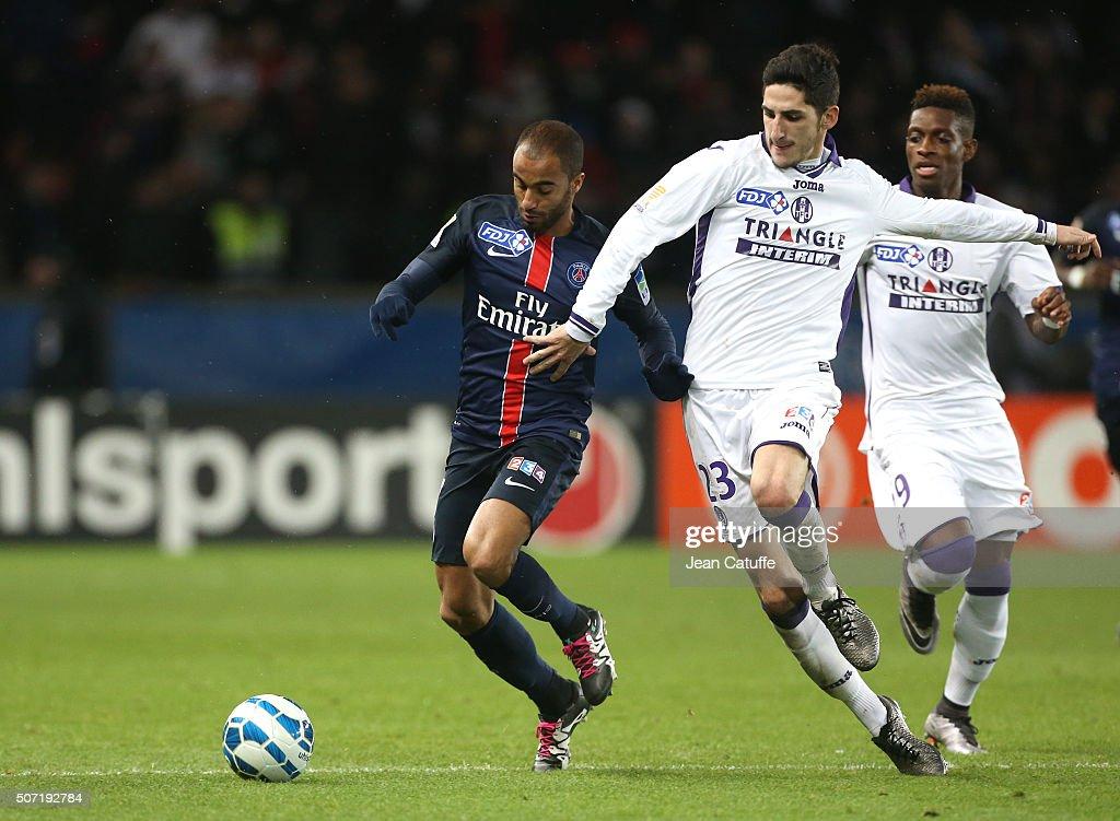 Paris saint germain psg v toulouse coupe de la ligue in paris getty images - Coupe de la ligue om toulouse ...