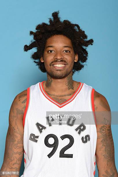 Lucas Nogueira of the Toronto Raptors poses for a head shot during the 20162017 Media Day on September 26 2016 at the BioSteel Centre in Toronto...
