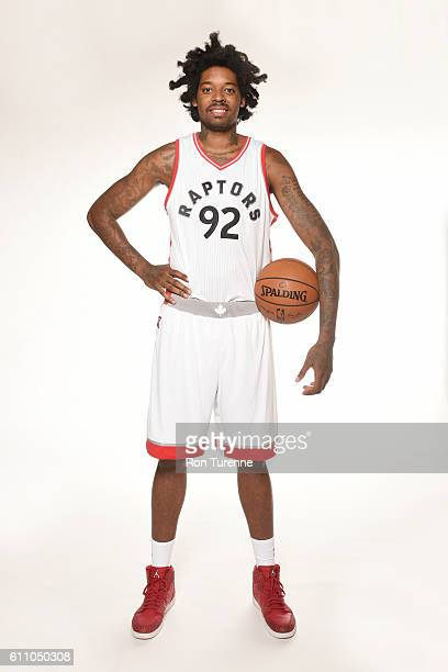 Lucas Nogueira of the Toronto Raptors poses for a portrait during 2016 Media Day on September 28 2016 at the BioSteel Centre in Toronto Ontario...