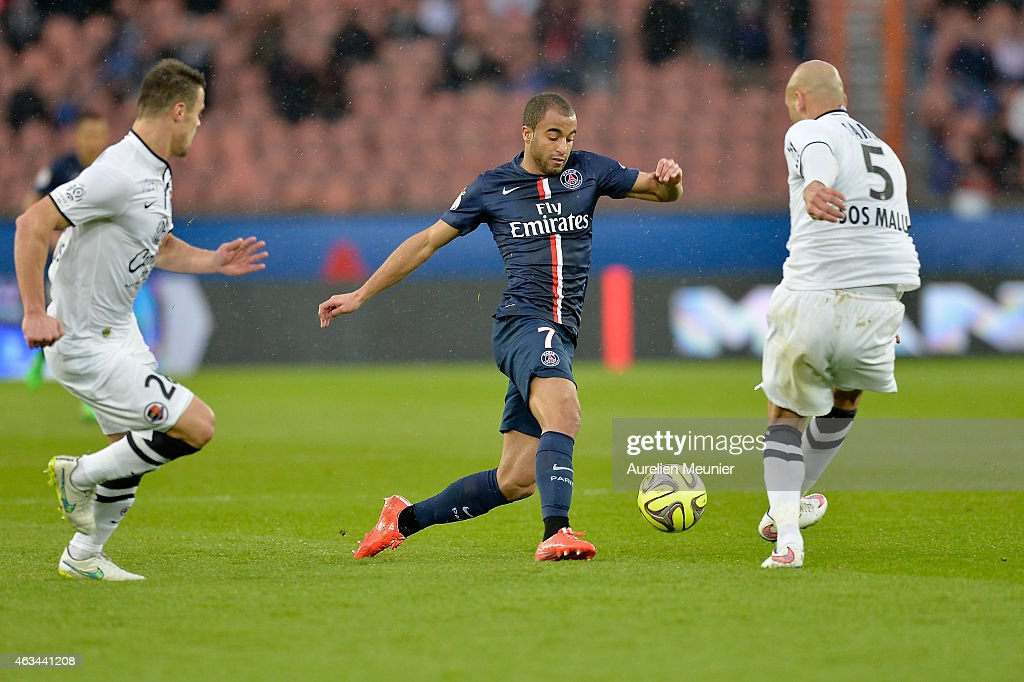 paris saint germain fc v sm caen ligue 1 getty images. Black Bedroom Furniture Sets. Home Design Ideas