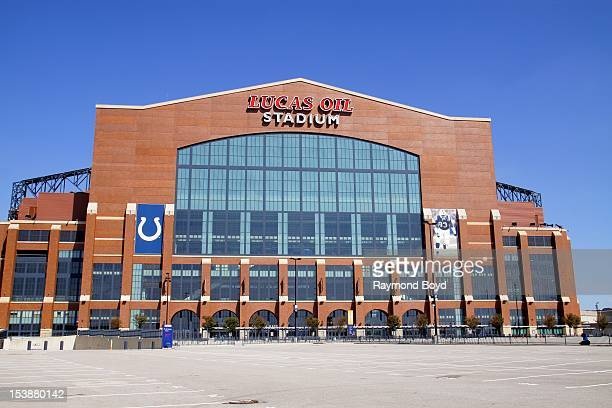 Lucas Oil Stadium home of the Indianapolis Colts in Indianapolis Indiana on SEPTEMBER 30 2012
