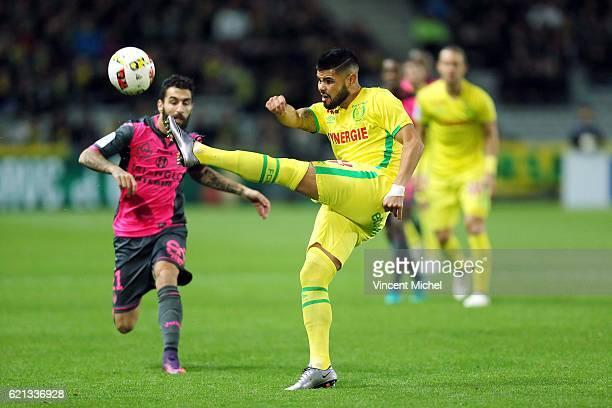 Lucas Pedro Alves de Lima of Nantes during the Ligue 1 match between Fc Nantes and Toulouse Fc at Stade de la Beaujoire on November 5 2016 in Nantes...