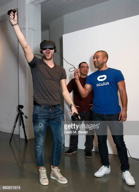 Lucas Perez at the Oculus Game Days VIP opening night hosted by the Facebook owned virtual reality company Oculus on March 9 2017 in London England
