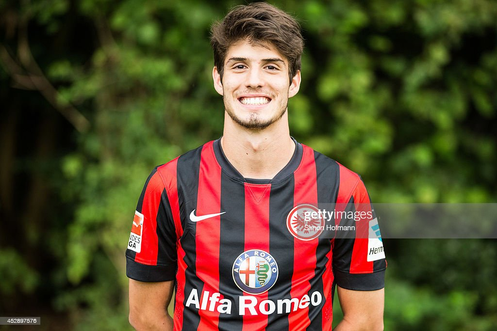 <a gi-track='captionPersonalityLinkClicked' href=/galleries/search?phrase=Lucas+Piazon&family=editorial&specificpeople=7598037 ng-click='$event.stopPropagation()'>Lucas Piazon</a> poses during the Eintracht Frankfurt Team Presentation at Commerzbank-Arena on July 29, 2014 in Frankfurt am Main, Germany.