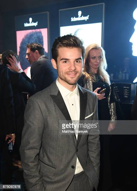 Lucas Reiber poses at the Bambi Awards 2017 party at Atrium Tower on November 16 2017 in Berlin Germany