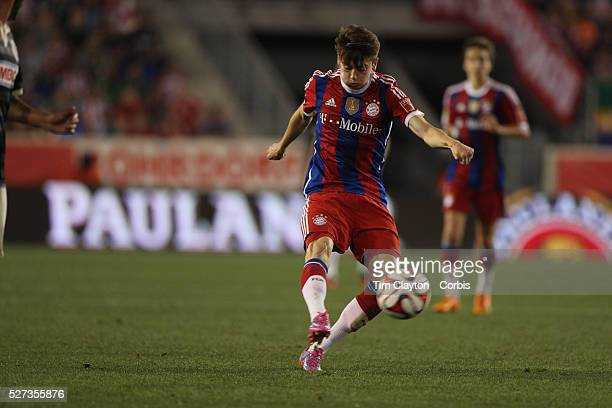 Lucas Scholl Bayern Munich in action during the FC Bayern Munich vs Chivas Guadalajara friendly football match at Red Bull Arena New Jersey USA 31st...