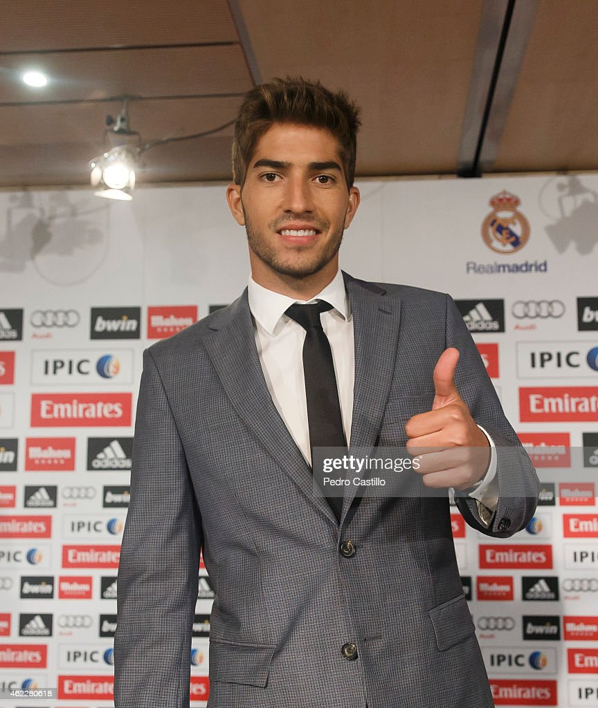 Lucas Silva: Real Madrid Unveil New Signing Lucas Silva
