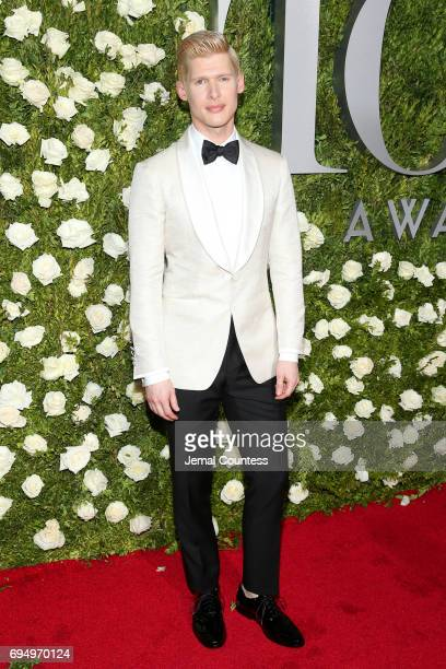 Lucas Steele attends the 2017 Tony Awards at Radio City Music Hall on June 11 2017 in New York City