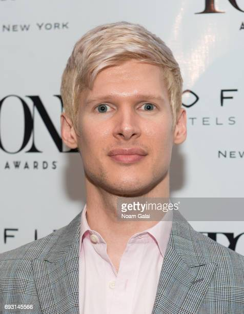Lucas Steele attends the 2017 Tony Honors cocktail party at Sofitel Hotel on June 5 2017 in New York City