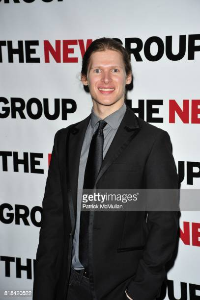 Lucas Steele attends The New Group 2010 Gala Benefit honors ROBYN GOODMAN at BB King Blues Club Grill on January 25 2010 in New York City