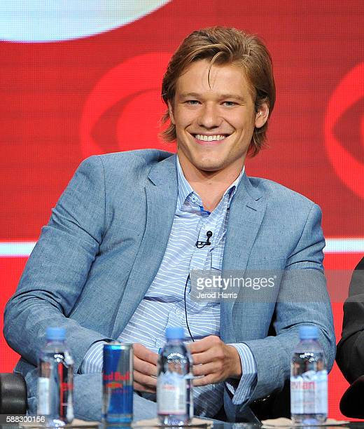 Lucas Till attends the CBS 2016 Summer TCA Panel at The Beverly Hilton Hotel on August 10 2016 in Beverly Hills California