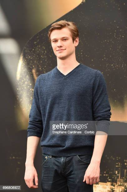 Lucas Till from TV Show MacGyver poses for a Photocall during the 57th Monte Carlo TV Festival Day Two on June 17 2017 in MonteCarlo Monaco