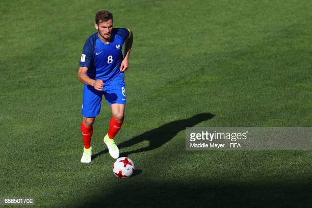 Lucas Tousart of France during the FIFA U20 World Cup Korea Republic 2017 group E match between France and Vietnam at Cheonan Baekseok Stadium on May...