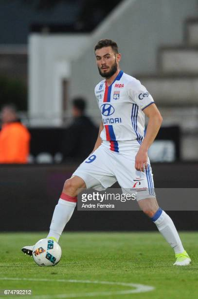 Lucas Tousart of Lyon during the French Ligue 1 match between Angers and Lyon on April 28 2017 in Angers France